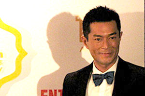 Festival ambassador and star turn Louis Koo