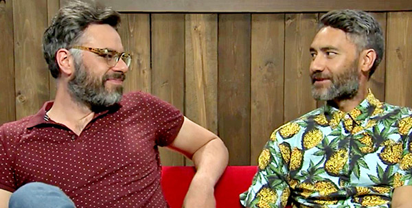 Jemaine Clement & Taika Waititi