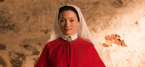 Anzac Girls' Antonia Prebble