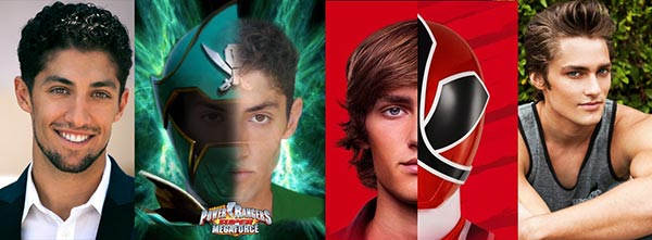 Power Rangers Azim Rizk and Alex Heartman