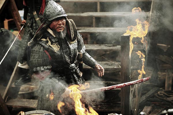 Roaring Currents, Choi Min-sik has a bad day at the office