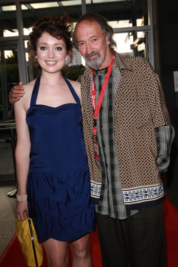 Antonia Prebble and Frank Whitten