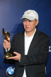 Hou Hsiao Hsien shows the kids which way round a cap is meant to be worn