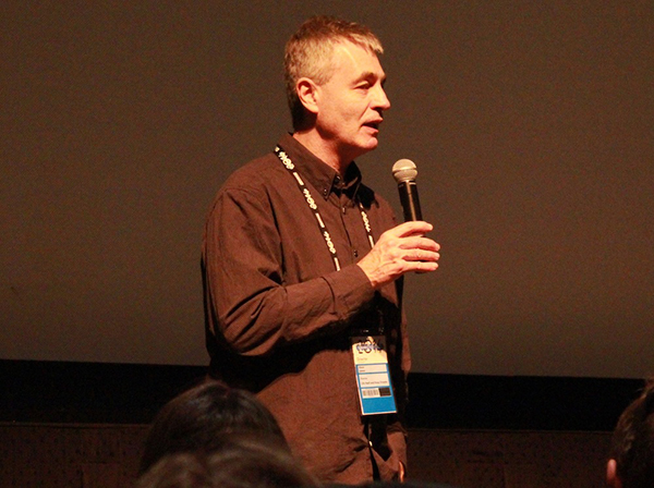 Steve James presents Life Itself at Sundance. (c)  Jason Bailey/Flavorwire