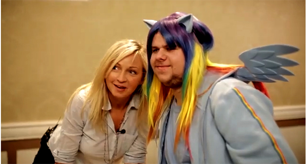 My Little Pony voice artist Ashleigh Ball