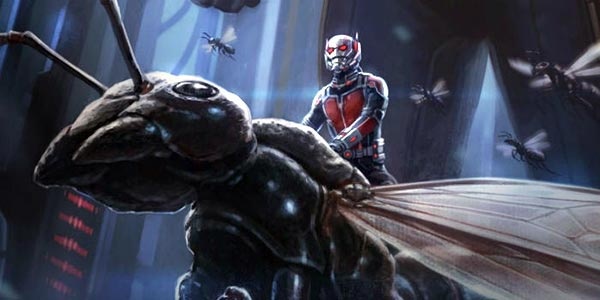 Ant-Man hitches a ride