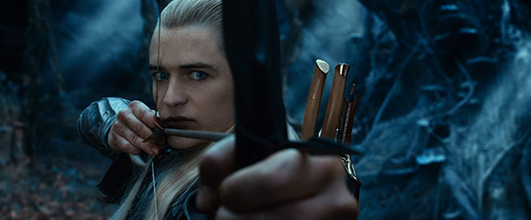 "ORLANDO BLOOM as Legolas  in ""THE HOBBIT: THE DESOLATION OF SMAUG,"""