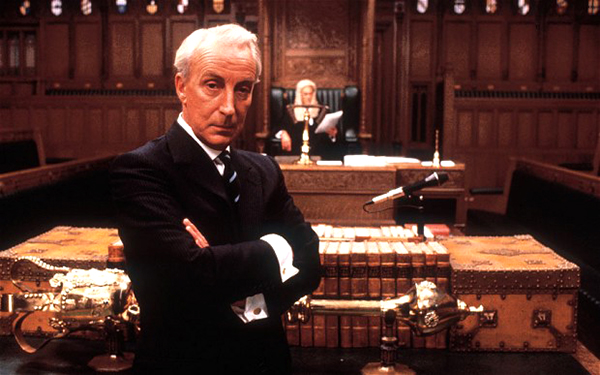 Ian Richardson, the original onscreen incarnation of F.U.