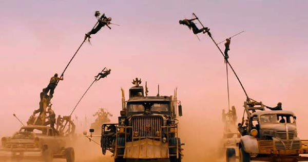 Mad Max: Fury Road: George Miller and friends try out some pole dancing