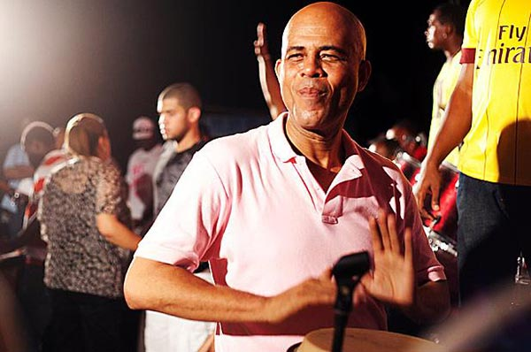 Sweet Micky in person: musician and aspiring politician Michel Martelly