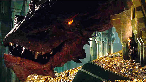 The Hobbit: the Desolation of Smaug: Heeeere's Johnny!