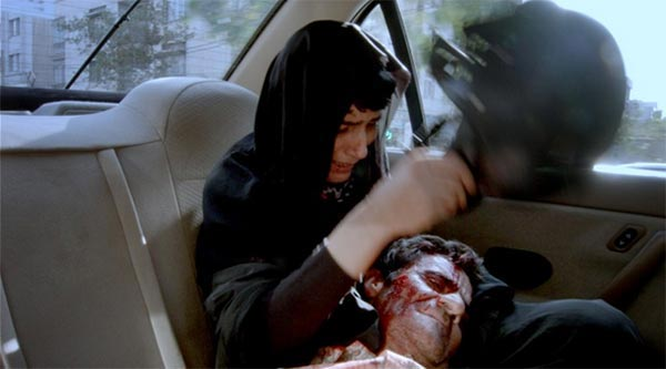 """ ... and $150 for soiling the cab, mate."" Jafar Panahi's Taxi"