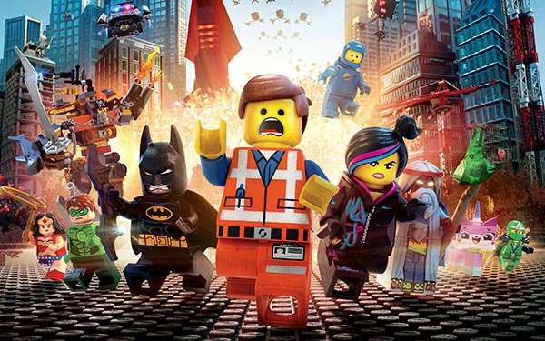 The Lego Movie: escapes with UK box office crown